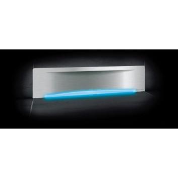 Kessel Odpływ ścienny Scada LED RGB, z pokrywą Wave- sanitbuy.pl
