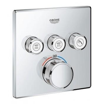 Bateria termostatyczna Grohe Grohtherm SmartControl 2-odbiorniki wody chrom
