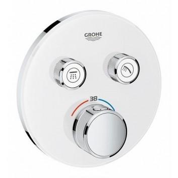 Bateria podtynkowa Grohe Grohtherm SmartControl termostatyczna 2-odbiorniki wody chrom
