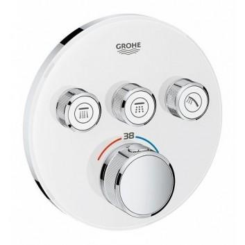 Bateria podtynkowa Grohe Grohtherm SmartControl termostatyczna 3-odbiorniki wody chrom