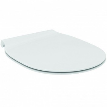 Deska sedesowa Ideal Standard Connect Air typu Thin, z duroplastu wolnoopadająca - sanitbuy.pl