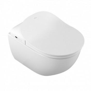Miska WC podwieszana Villeroy & Boch Subway 2.0 ViClean 56x37 cm DirectFlush bez kołnierza wewnętrznego z powłoką CeramicPlus, biała Weiss Alpin - sanitbuy.pl
