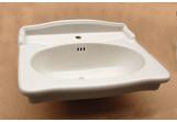 Umywalka Artceram Hermitage 68x55 cm, biała