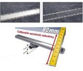 Odpływ liniowy Kessel Linearis Compact łazienkowy kompletny, długość 1150 mm