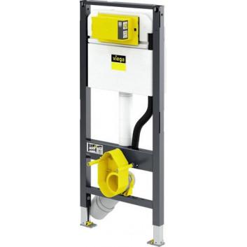 Stelaż podtynkowy do WC Viega Prevista Dry, regulacja wysokości zawieszenia miski, 1120mm