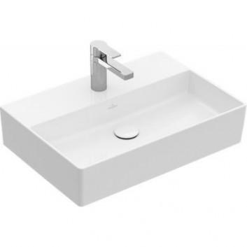 Villeroy & Boch Memento 2.0 umywalka 60x42 cm prostokątna biała