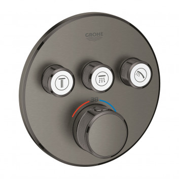 Bateria podtynkowa Grohe Grohtherm SmartControl termostatyczna 3-odbiorniki wody chrom- sanitbuy.pl