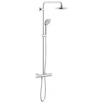 System prysznicowy GROHE Euphoria 180 ścienny, dł. ramienia 404 - 412 mm, chrom, termostat- sanitbuy.pl