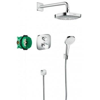Zestaw podtynkowy Hansgrohe Raindance Select E/Shower Select E podtynkowy, chrom- sanitbuy.pl