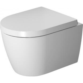 Miska WC wisząca Compact Duravit Rimless, biała, 48 x 36 cm, powłoka HygieneGlaze- sanitbuy.pl