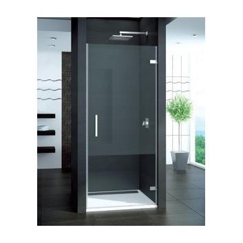 Drzwi SanSwiss PUR1 do wnęki skrzydłowe 80 cm prawe, chrom, szkło przeźroczyte- sanitbuy.pl