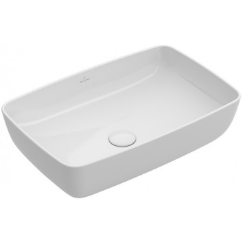 Umywalka nablatowa, prostokątna Villeroy & Boch Artis biały Alpin, 58 x 38 cm, - sanitbuy.pl