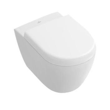 Miska wisząca WC Villeroy & Boch Subway 2.0 biały Alpin CeramicPlus, 48 x 35,5 cm, bez rantu- sanitbuy.pl