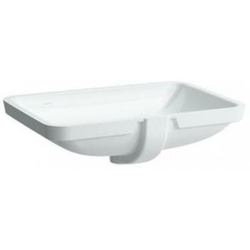 Umywalka podblatowa 52,5x40 cm biała bez otworu na baterię Laufen Pro S- sanitbuy.pl